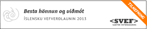 besta-honnun-og-vidmot-2013
